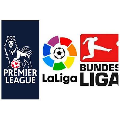 Resultado de imagen de Premier, Bundesliga, Ligue 1