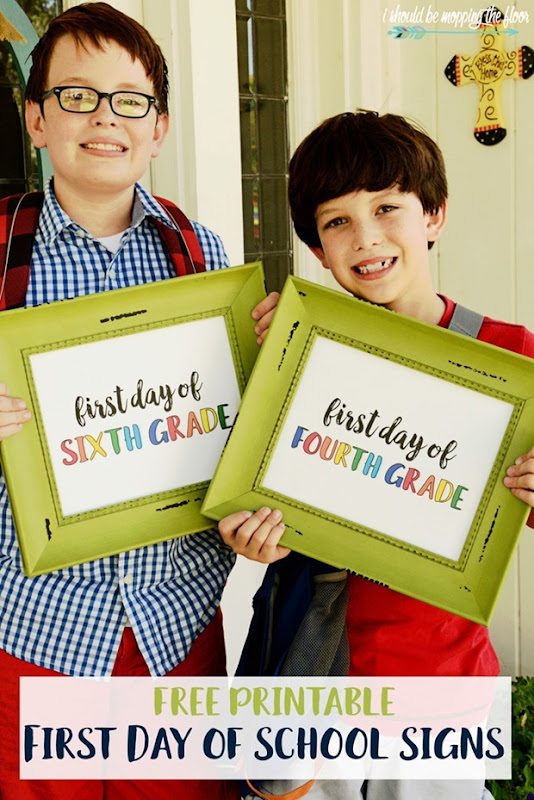 first day of school printables2