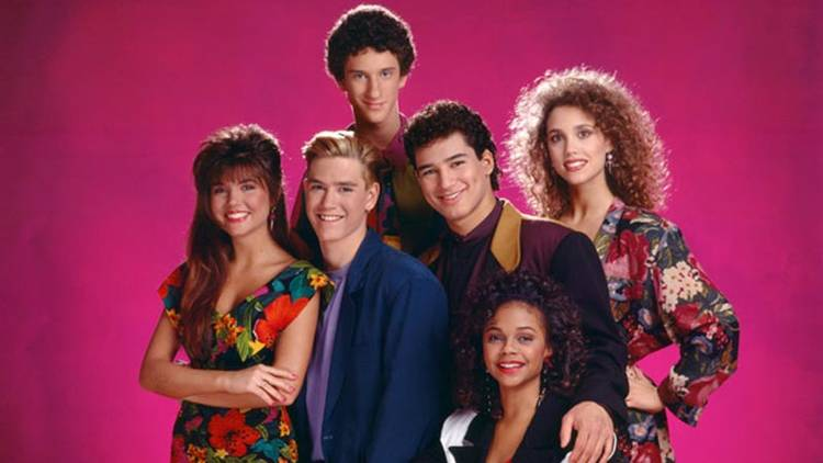 "El equipo de ""Salvados por la campana"", o ""Saved by the bell"" en versión original"