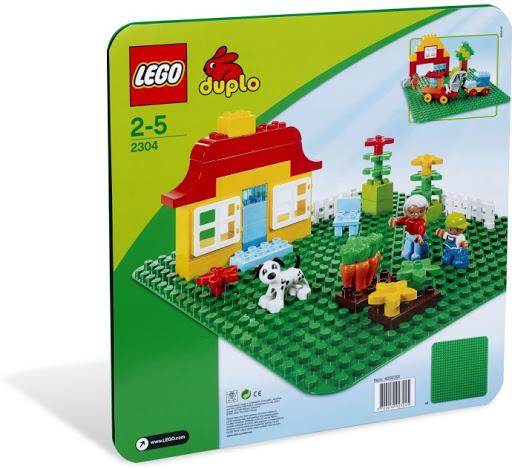 Contenido de Lego® 2304 Plancha Verde