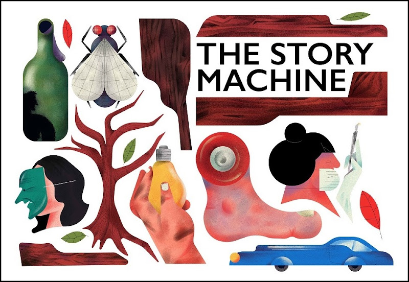 The Story Machine - Writers' Centre Norwich, Dragon Hall, Sunday 15 May, 12.30pm & 7.30pm