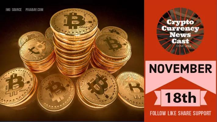 Crypto News Cast For November 18th 2020 ?