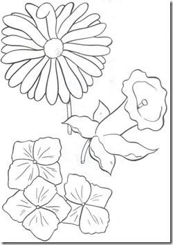 11flores primavera colorear  (47)