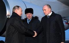 Putin in Chelyabinsk.