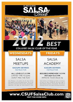 CSUF Salsa Club Class/Meetups - Salsa Academy