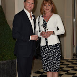 OIC - ENTSIMAGES.COM - HIS EXCELLENCY MR MATTHEW BARZUN and SAMANTHA BOND at the  Official Reception at US Ambassador's Regents Park Residence  for Special Olympics GB's World Games team London  20th July 2015 Photo Mobis Photos/OIC 0203 174 1069