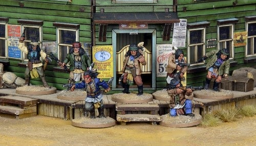 Dead Man's Hand, miniatures, Crying Grumpies