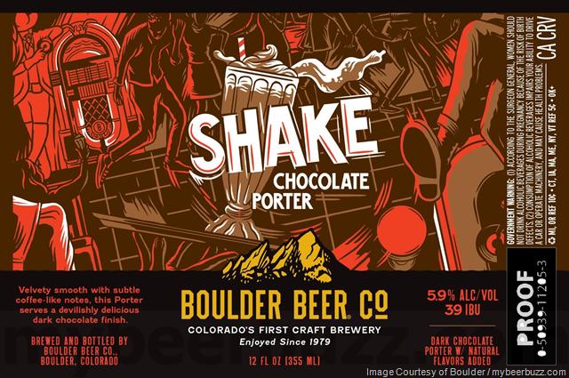 Boulder Beer Updating Shake Chocolate Porter