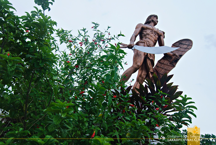 Lapu-Lapu's Bronze Statue at Mactan's Lapu-Lapu Shrine