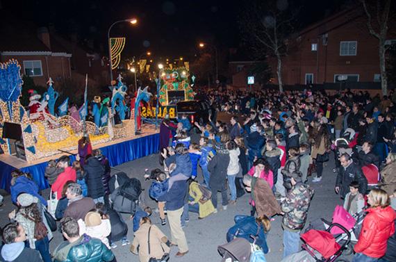 Cabalgata de Reyes 2016 en Colmenar Viejo