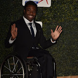 OIC - ENTSIMAGES.COM - Ade Adepitan at the  Daily Mirror Pride of Sport Awards  London 25th November 2015 Photo Mobis Photos/OIC 0203 174 1069