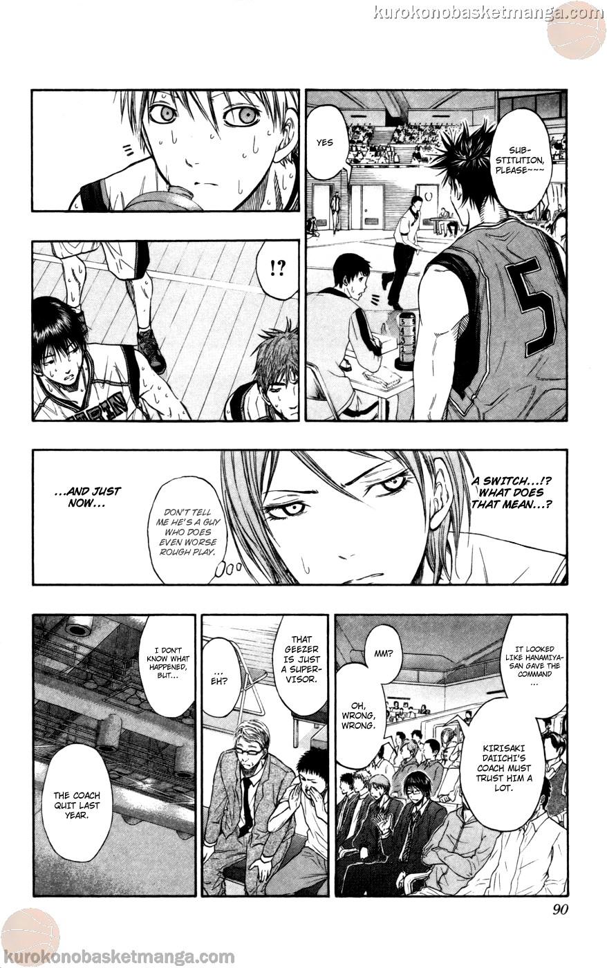 Kuroko no Basket Manga Chapter 104 - Image 04