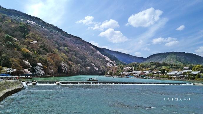 7 京都 嵐山渡月橋 賞櫻 櫻花 Saga Par 五色霜淇淋 彩色霜淇淋