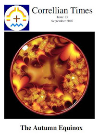 Cover of Correllian Times Emagazine's Book Issue 13 September 2007 The Autumn Equinox
