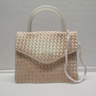 Bottega Veneta Silk Evening Bag