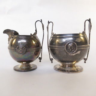 Gorham + T& Co. Sterling Silver Cream and Sugar