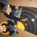 MAking Mobile Solar System WKSN (Junior KG )  09/12/2015