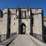 Château de Vincennes : tour des Salves et entrée est