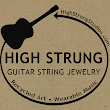 High Strung Recycled Guitar String Jewelry