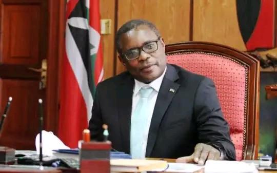 Speaker of the Senate Kenneth Lusaka  photo
