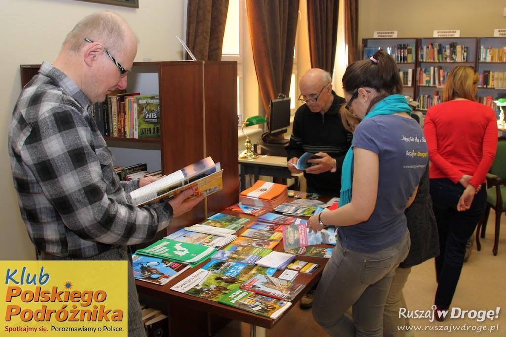 Klub Polskiego Podróżnika - rozdajemy materiały regionalne