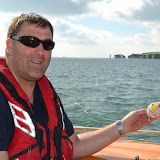 ALB navigation training in Poole Bay - 20 September 2015.  Photo credit: RNLI/Poole