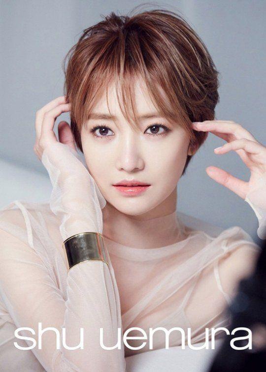 Korean Celebrities Short Haircuts 2018