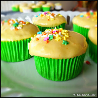 Sweet Pea Cupcakes with Carrot-Cream Cheese Frosting