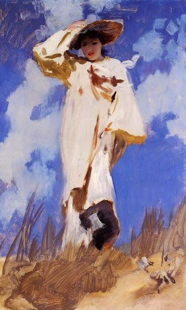 John Singer Sargent - A Gust of Wind, 1886-1887
