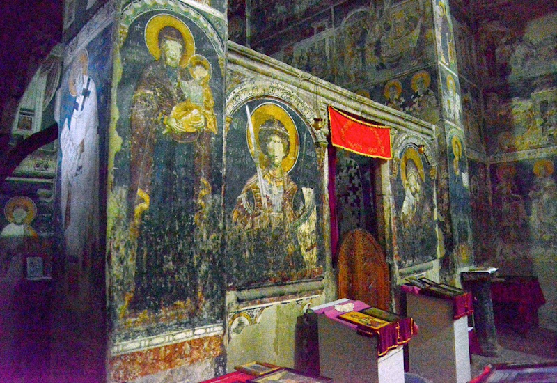 9. Frescoes by Mihailo and Evtihij. The Church of St. George. XI Century. The Village of Staro Nagoricane