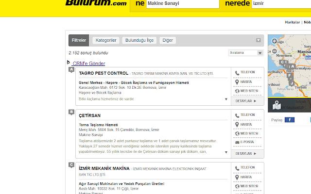 Bulurum.com CRM Addin