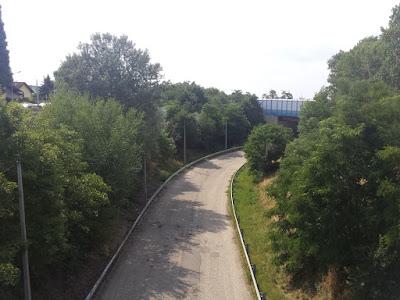 der Lost Place an der Autobahn
