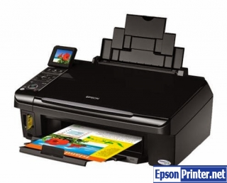 How to reset Epson SX405 printer
