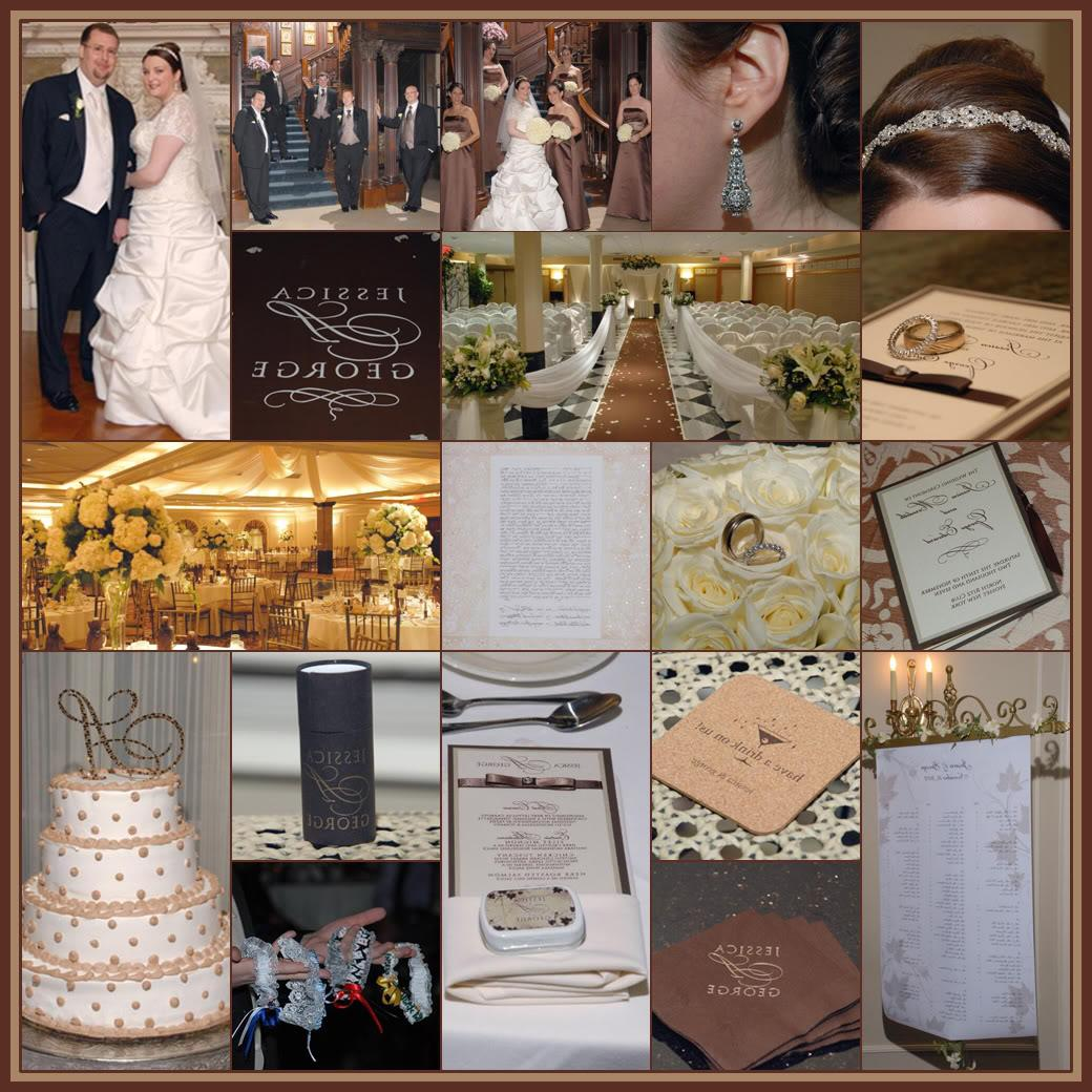 Brown And Gold Wedding Ideas: Nancee's Blog: Hocolate, Mocha And Ivory Wedding Theme