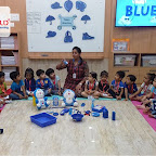 Blue Day Celebration by Nursery Afternoon Section at Witty World, Chikoowadi (2018-19)