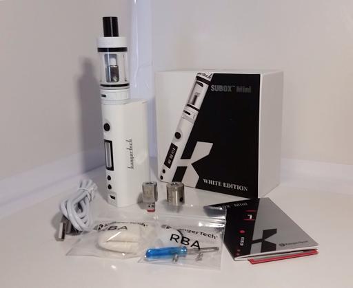 subox mini examen de kit kangertech cigarette lectronique. Black Bedroom Furniture Sets. Home Design Ideas