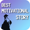 Real Life Motivational Stories in English Offline icon