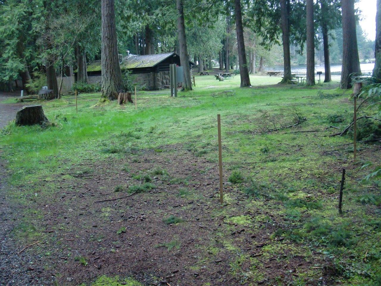 Site #2, New Court near Bath House #1