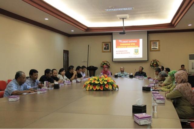 Ke Pemkot Mojokerto, Dewan Kabupaten Karanganyar Belajar Lelang Jabatan
