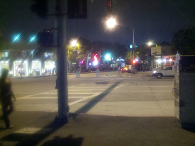 Washington Blvd. & Culver Blvd., looking north on Main St.