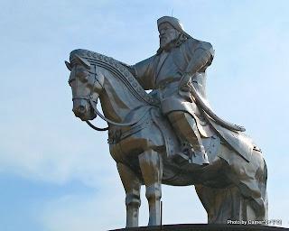 Чингис хааны дурсгалт хөшөө /Photography by Cameron/