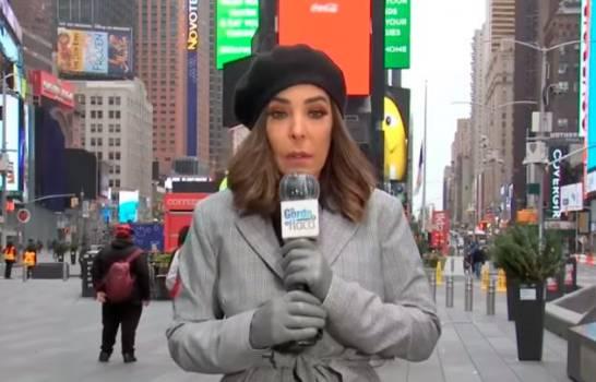 "VIDEO,,Presentadora dominicana narra su terror tras tiroteo en Times Square: ""Escuchamos una balacera"""