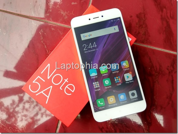 Hands On & Unboxing Xiaomi Redmi Note 5A