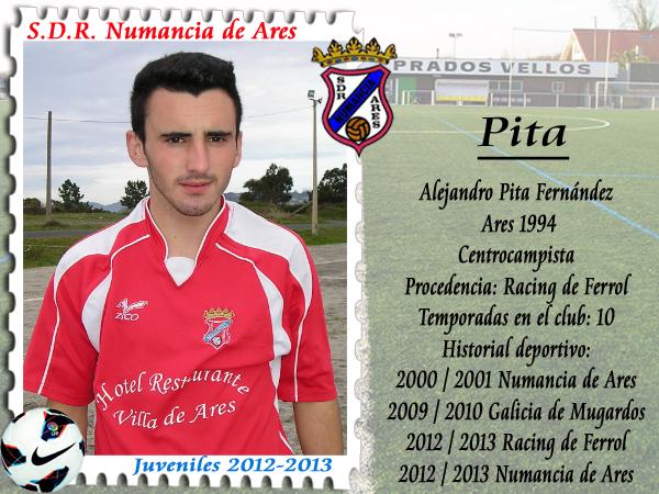 ADR Numancia de Ares. Pita.