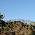 pogled na Kilimanjaro iz kampa