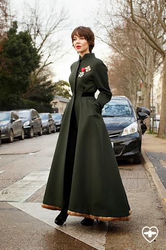Ulyana Sergeenko; Fashion Designer; Wearing Ulyana Sergeenko;