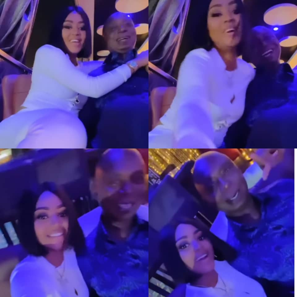 Regina Daniels shares lovely video of her and her husband, Ned Nwoko