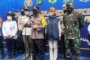 Polda Metro Jaya dan Kodam Jaya, Rakor Antisipasi Arus Balik Mudik Idul Fitri 1442 H ri Jalan Tol KM 34 Cibatu