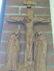 Station of the Cross in the Chapel: XII:  The Crucifixion