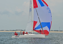J/95 cruiser-daysailer sailboat- shoal-draft sailing